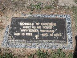 Robert W Golden