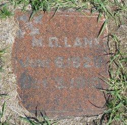 Dr M. D. Lane