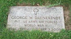 George W Daenekindt
