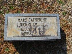 Mary Catherine <I>Horton</I> Emeleus