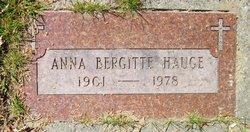 Anna Bergitte Hauge