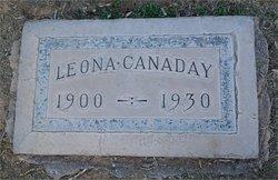 Leona <I>Rigby</I> Canaday