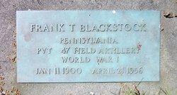 Frank Thomas Blackstock
