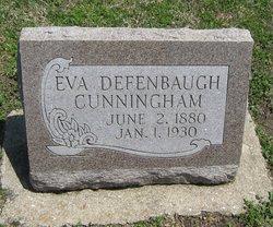 Eva <I>Owen</I> Defenbaugh Cunningham
