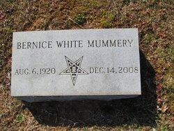 Bernice <I>White</I> Mummery