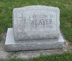 Caroline M <I>Groft</I> Weaver