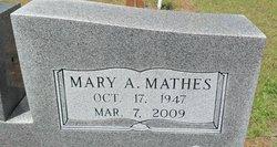 Mary A <I>Mathes</I> Oglesby