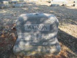 Rawley Hatcher Watson, I
