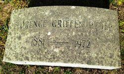 Florence <I>Griffen</I> Ryder