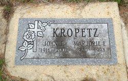 Marjorie E. Kropetz