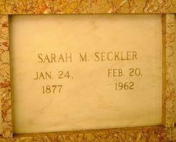 Sarah M. Seckler