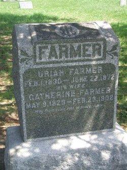 Catherine <I>Clark</I> Farmer