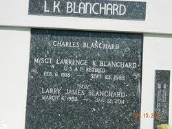 MSGT Lawrence K Blanchard