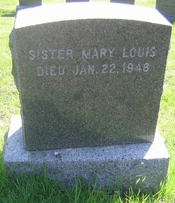 Sr Mary Louis