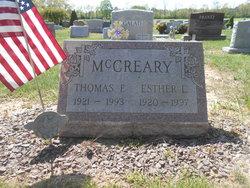 Esther L. <I>Pryor</I> McCreary
