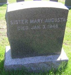 Sr Mary Augusta