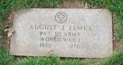 August J Zemke