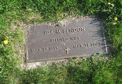 Ida M. <I>DelCogliano</I> Bendon