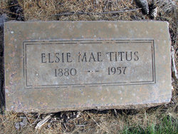 Elsie Mae <I>McCoy</I> Titus