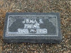 Julia S. Percy