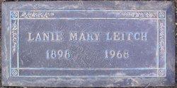 Lanie Mary <I>Schlafle</I> Leitch
