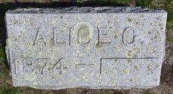 Alice G. <I>Taplin</I> Bugh
