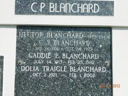 "Dolia ""Delia"" <I>Traigle</I> Blanchard"