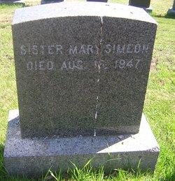 Sr Mary Simeon