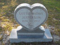 "Lottie ""Tweet"" <I>Mathis</I> Jefferson"