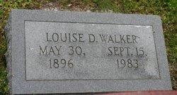 Louise D Walker