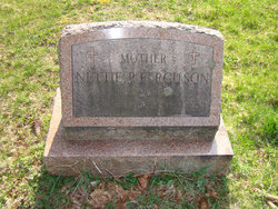 """Burnetta """"Nettie"""" <I>Perry</I> Ferguson"""