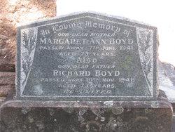 Margaret Ann Boyd