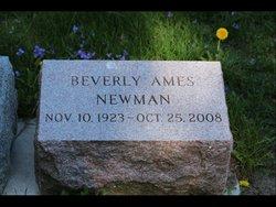 Beverly <I>Ames</I> Newman