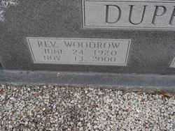 Rev Woodrow Dupree