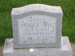 Mary <I>Hodge</I> Nay