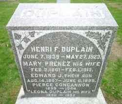 Mary <I>Prenez</I> Duplain