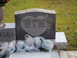Evie <I>Shuler</I> Johnson