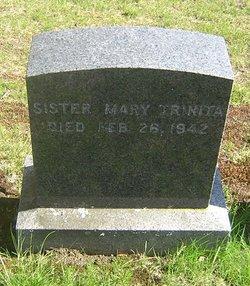 Sr Mary Trinita