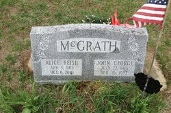Alice <I>Reish</I> McGrath