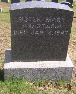 Sr Mary Anastasia