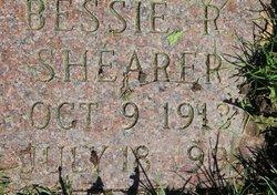 Bessie R Shearer