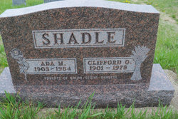 Ada M <I>Davis</I> Shadle