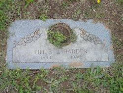 Lillie J Hadden