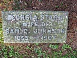 Georgia <I>Starr</I> Johnson