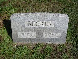Teresa C <I>Gaughn</I> Becker