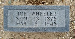 "Joseph Gideon ""Joe"" Wheeler"