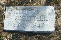 Pauline Mary <I>Jud</I> Schettler