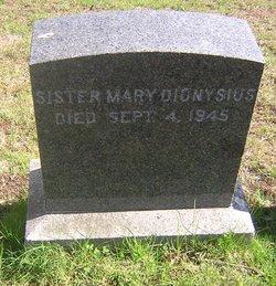 Sr Mary Dionysius