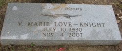 V. Marie Love-Knight