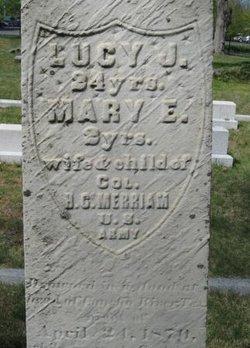 Lucy Jane <I>Getchell</I> Merriam
